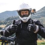Een helm om veilig te rijden